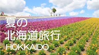 北海道旅行夏富良野,旭山動物園,美瑛,トマムHOKKAIDO