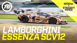 Loudest Lamborghini Ever? Flat-out in the bonkers 820bhp Essenza SCV12 | Top Gear