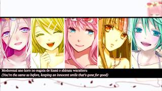 【IA, Rin, Luka, Galaco & Miku】Answer    VOCALOID   