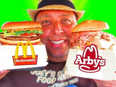 McDonald's® Signature Sriracha Burger & Arby's® Mount Italy Sandwich REVIEWS!