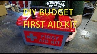 DIY Budget First Aid Kit