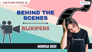 Behind the Camera? | Behind The Scenes | Bloopers | YouTube Festival | Monica Bedi #shorts - CAMERA