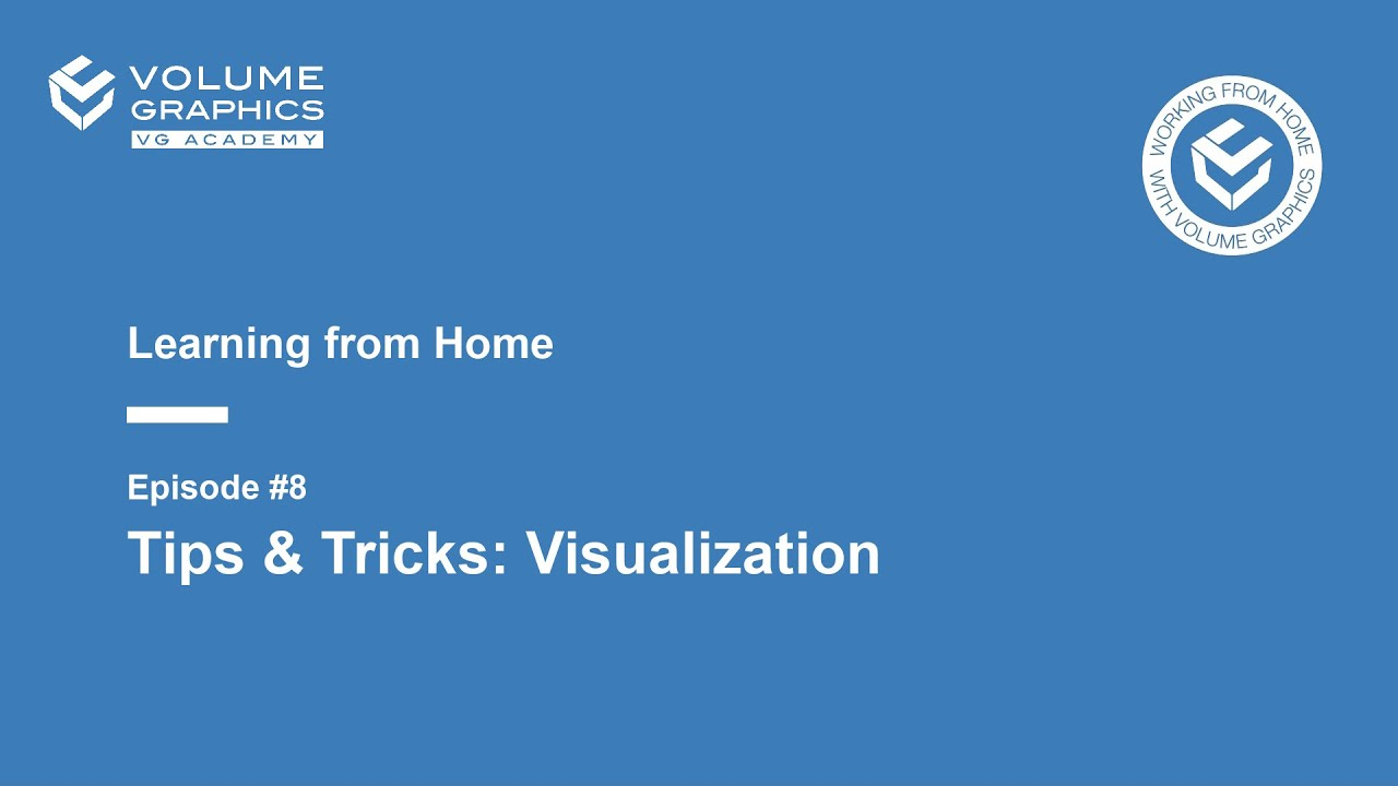 Learning from Home - Episode 8: Tips & Tricks: Visualization