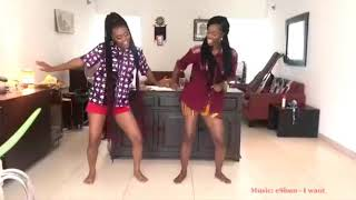 Eshun and Bestie dance to her latest #Iwant