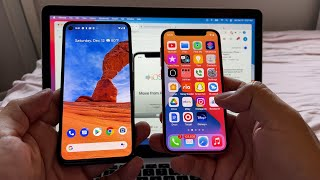 Move to iOS App - Move from Android to the new iPhone 12 iOS 14