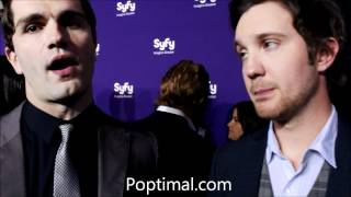 Syfy Upfronts 2012 - Sam Witwer & Sam Huntington