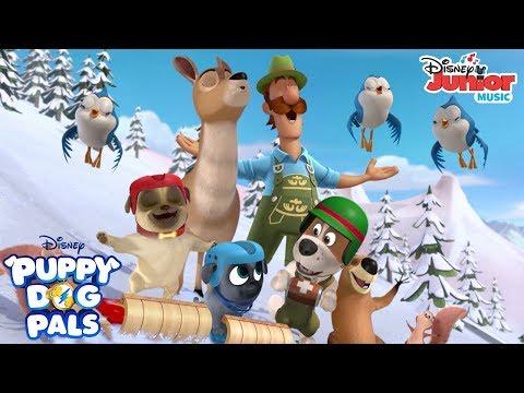The Alpine Puppy Yodel Music Video   Puppy Dog Pals   Disney Junior