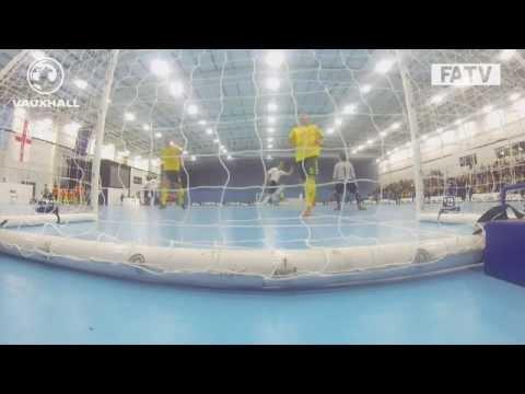 England vs Lithuania Futsal Double header