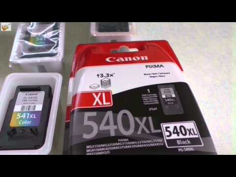 Canon Pixma MG3550 Unboxing