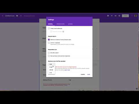 2018-01-10 - File Uploads in Google Forms - YouTube