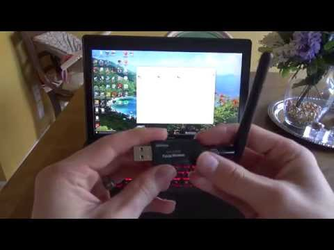 REVIEW Panda 300Mbps Wireless N USB Adapter - Speed and Signal Test