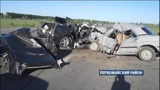 На дорогах Алтайского края произошли две страшные аварии, унесшие жизни восьми человек