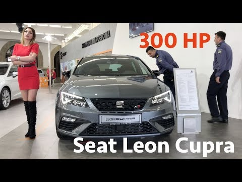Seat Leon Cupra - 2018 with digital cockpit first look in 4K