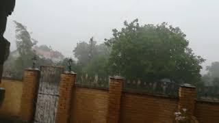 І знову злива. Гарні опади.