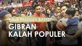 Gibran Rakabuming Kalah Populer dari Jan Ethes pada Penutupan Piala Presiden Basket 2019