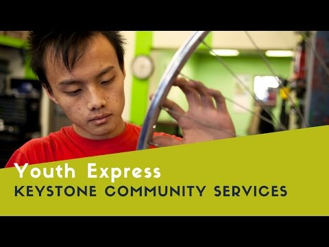Express Bike Shop and Youth Express make a difference in the lives of our young people -- watch how!