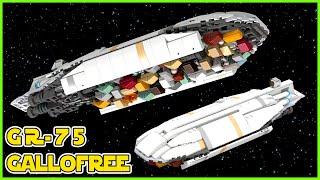 LEGO STAR WARS GR-75 Rebel Transport