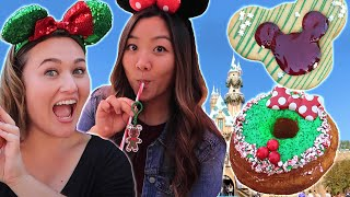 We Tried Disney Holiday Treats