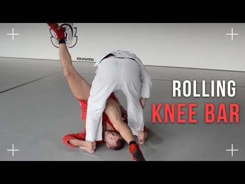 Rolling knee bar from standing. All details, how to finish knee bar on the ground