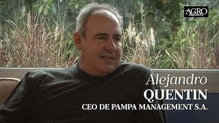 Alejandro Quentin - CEO de Pampa Management S.A.