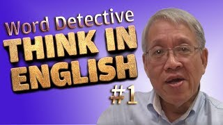 Think in English POWER Exercise 1