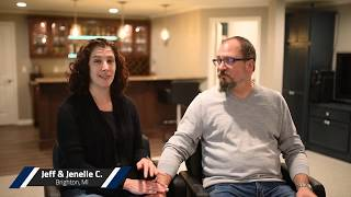 Jeff & Jenelle C. in Brighton, MI Video Testimonial
