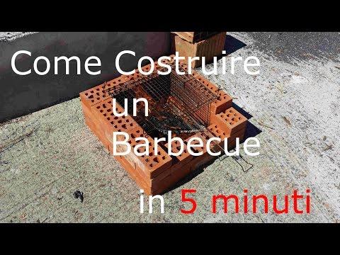 Come Costruire un Barbecue in 5 minuti - Dreamer