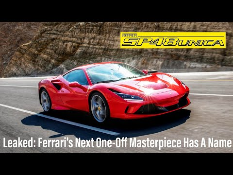 Leaked: Ferrari's Next One-Off Masterpiece Has A Name