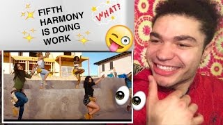 "FIFTH HARMONEY ""Work From Home"" Video REACTION !!"