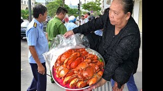 Many GATO Aunt 3 sell expensive crabs, creep down the crab tray