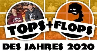 Die Spieledinos Top 10 und Flop 3 Brettspiele 2020 + Sonderpreis