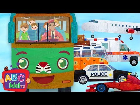 Wheels on the Bus and Vehicles 2 | CoCoMelon Nursery Rhymes & Kids Songs