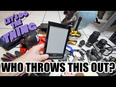 Awesome Trash Picking Haul - So Much Weird Awesome Stuff Today! NEW GIVEAWAY CONTEST!!!