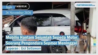 VIDEO Mobilio di Pidie Hantam Delapan Sepmor, Warkop dan Bengkel, Satu Meninggal