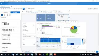 Lumira 2.0 Discovery Tutorial