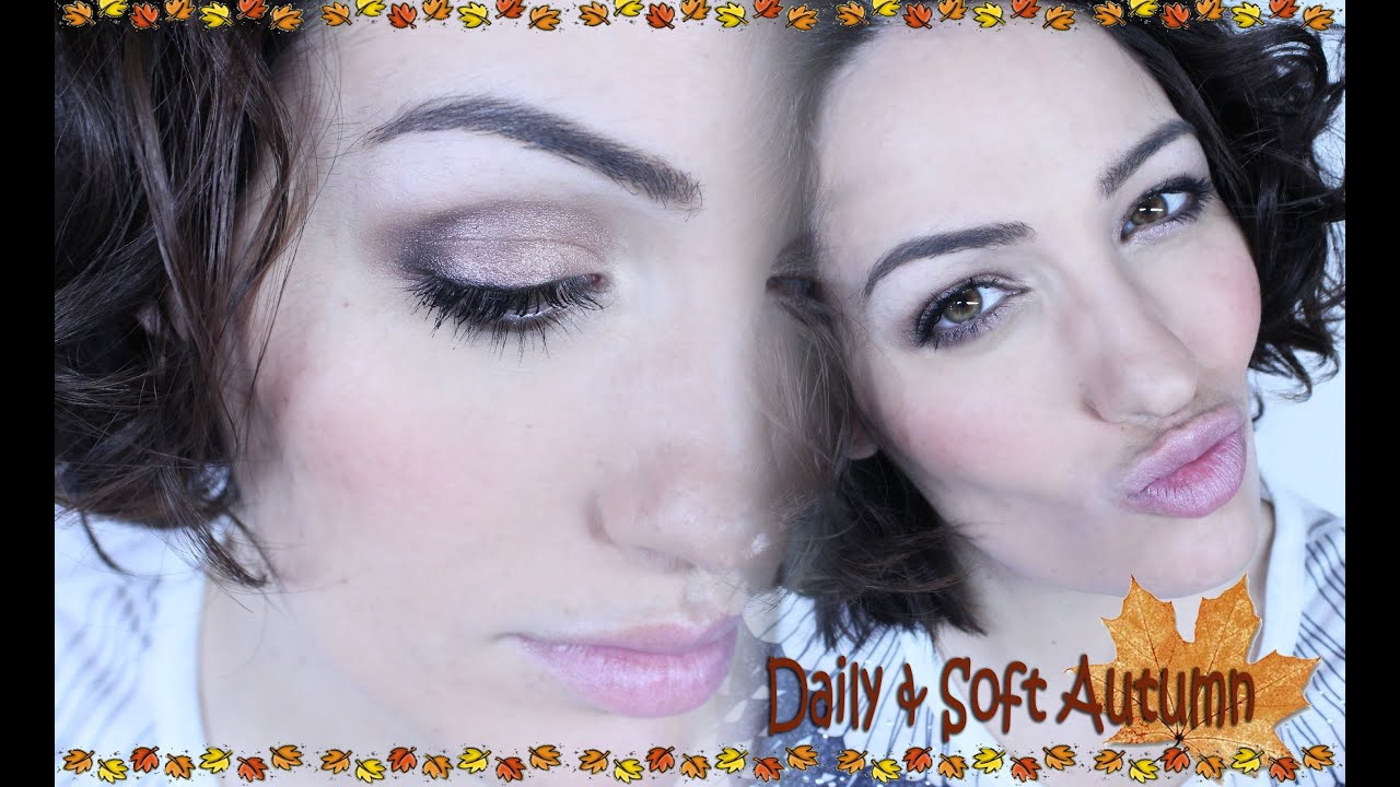 NonaMakeUp: Look de Otoño Rapido y para diario! / Daily & Soft Look for Autumn