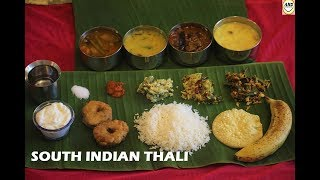 SOUTH INDIAN VEGETARIAN THALI- ATRIS HOME DELICACIES #RECIPE 38