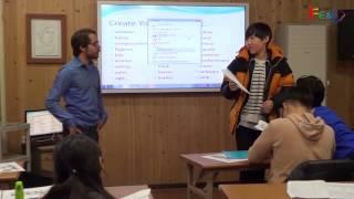 [제주캠퍼스][제주국제대안학교][글로벌리더스쿨] 2015 글로벌리더스쿨 겨울캠프 영어수업