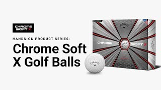 Chrome Soft X Triple Track Golf Balls-video