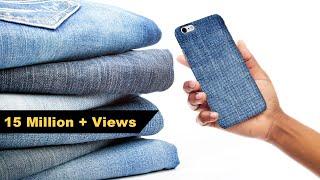 how-to-make-mobile-cover-diy-mobile-cover-denim-hacks-crafts-junction