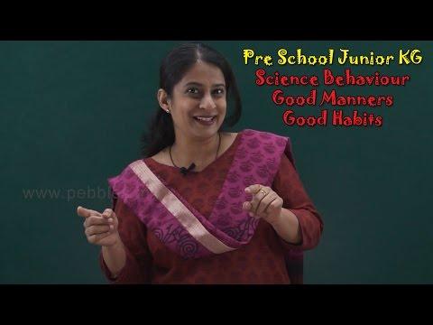 Let's Learn Good Behaviour   Good Manners For Kids   Good Habits For Kids   Pre School Junior