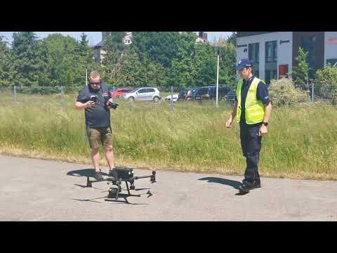 Dron W Policji: Do 80 Km/h I 200-Krotny Zoom [Wideo]