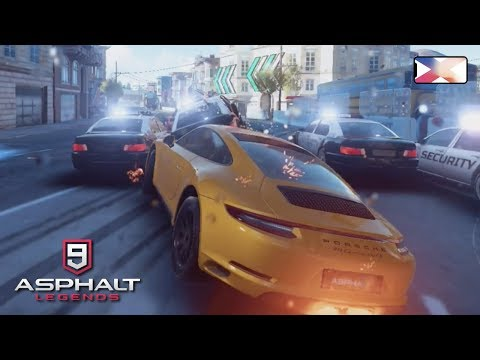 ASPHALT 9: LEGENDS - American Most Wanted - Cop Cars Chase