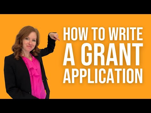 Learn How to Write a Grant - Grant Writing 101 - Part 1 of 3 - YouTube