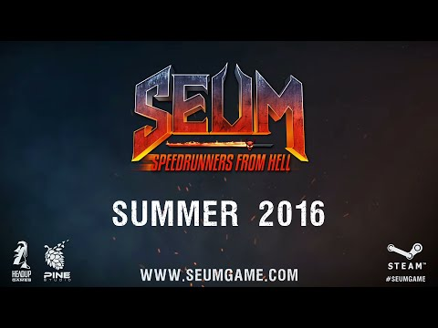 SEUM: Speedrunners From Hell - Announcement Trailer thumbnail