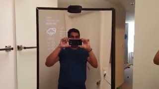 Magic Mirror Windows IOT raspberry pi 2 - face recognition