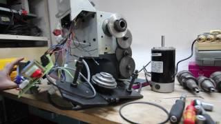 Teil 2 Drehmaschinen Reparatur Optimum D 180 x 300 T Vario
