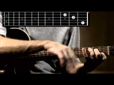 C Major guitar chord tutorial
