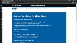 How to apply for a Blue Badge