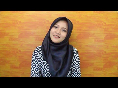 Video Tutorial Hijab SegiEmpat Satin #1 ( INDONESIA ) - Amalia Kurnia -